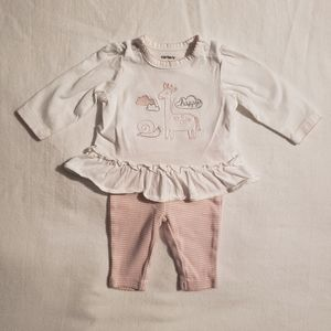 Carter's Two Piece Outfit